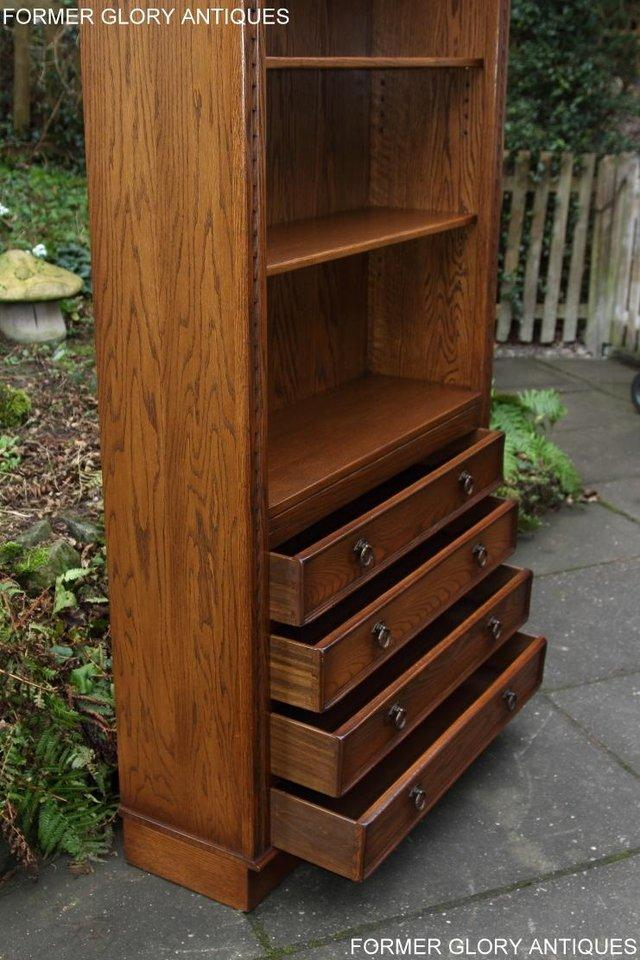 Image 43 of JAYCEE OLD CHARM OPEN BOOKCASE CHEST OF DRAWERS CD SHELVES