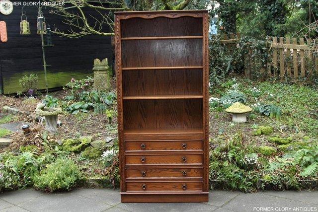 Image 46 of JAYCEE OLD CHARM OPEN BOOKCASE CHEST OF DRAWERS CD SHELVES