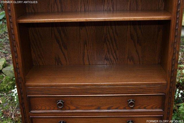 Image 49 of JAYCEE OLD CHARM OPEN BOOKCASE CHEST OF DRAWERS CD SHELVES