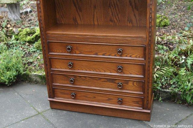 Image 50 of JAYCEE OLD CHARM OPEN BOOKCASE CHEST OF DRAWERS CD SHELVES