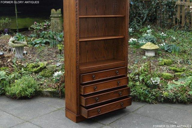 Image 51 of JAYCEE OLD CHARM OPEN BOOKCASE CHEST OF DRAWERS CD SHELVES