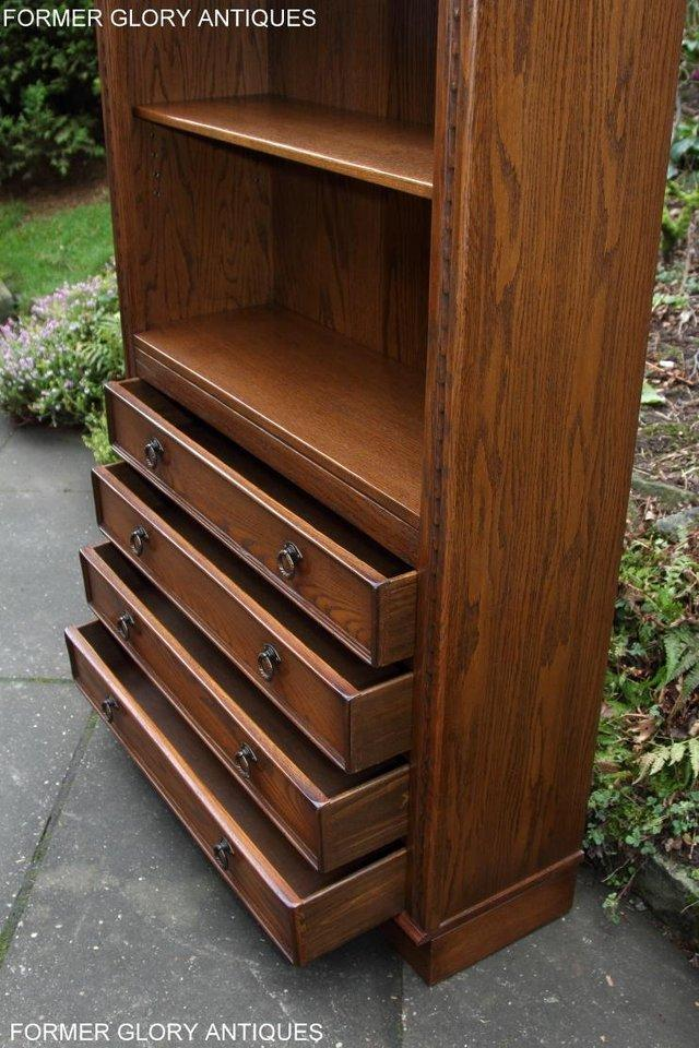 Image 55 of JAYCEE OLD CHARM OPEN BOOKCASE CHEST OF DRAWERS CD SHELVES