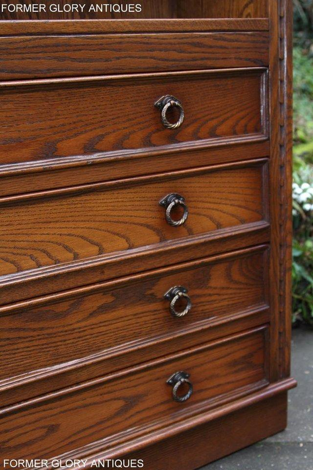Image 56 of JAYCEE OLD CHARM OPEN BOOKCASE CHEST OF DRAWERS CD SHELVES