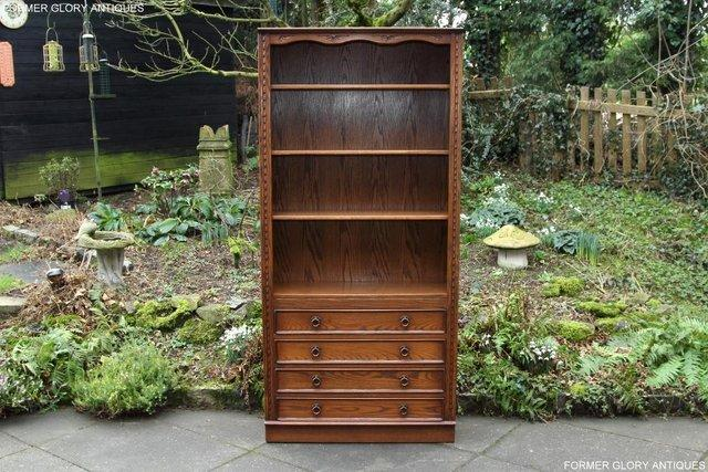 Image 60 of JAYCEE OLD CHARM OPEN BOOKCASE CHEST OF DRAWERS CD SHELVES