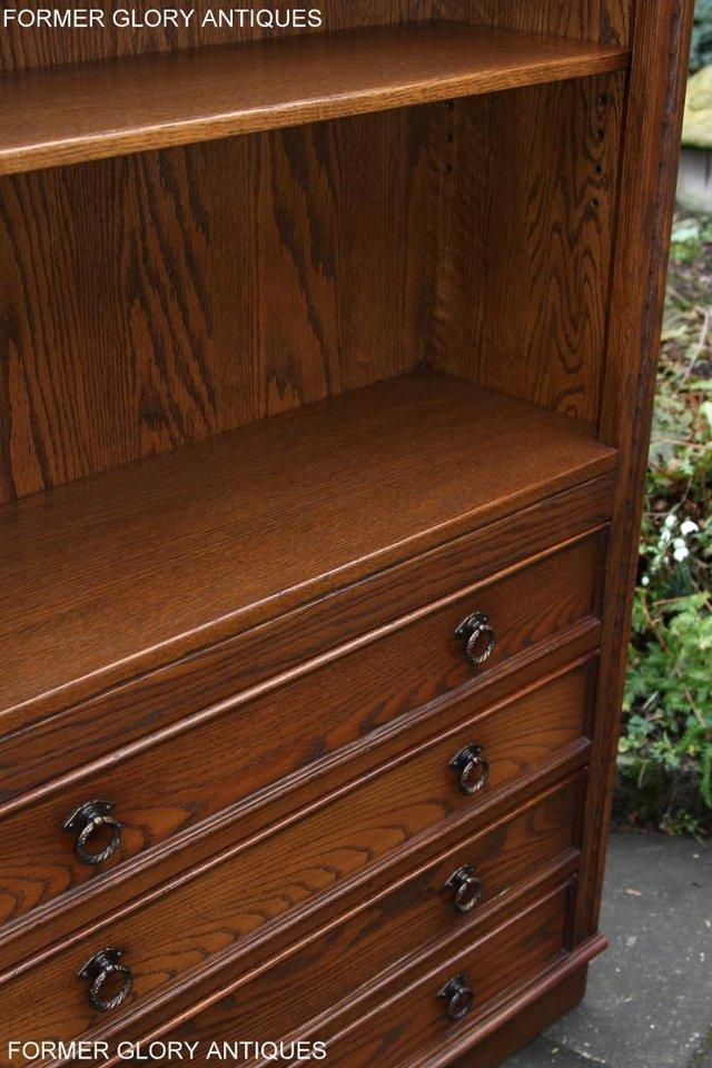 Image 61 of JAYCEE OLD CHARM OPEN BOOKCASE CHEST OF DRAWERS CD SHELVES