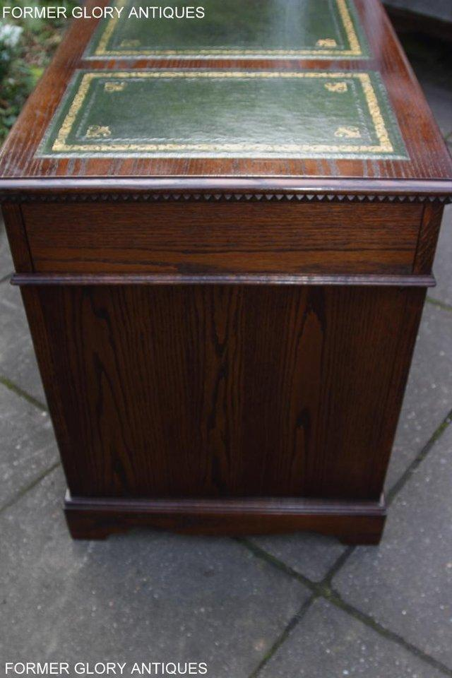 Image 10 of A JAYCEE OLD CHARM OAK COMPUTER PEDESTAL WRITING TABLE DESK