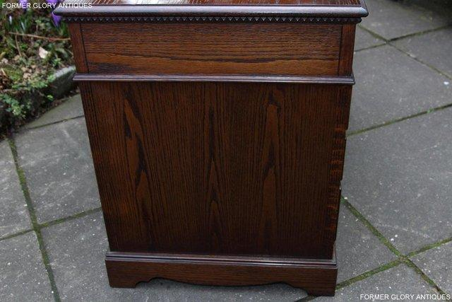 Image 68 of A JAYCEE OLD CHARM OAK COMPUTER PEDESTAL WRITING TABLE DESK