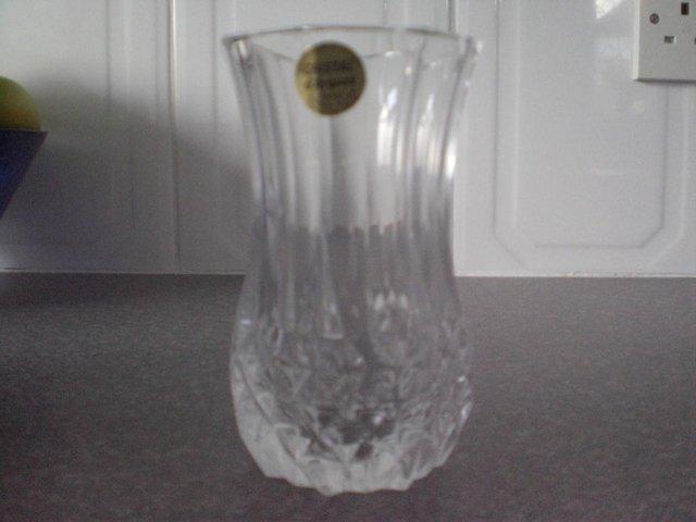 Cristal Darques France Genuine Lead Crystal Vase.Cristal D Arques 13 Cm 24 Genuine Lead Crystal Flower Vase For Sale In Sittingbourne Kent Preloved