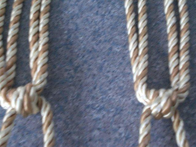 Preview of the first image of Curtain Tie Backs with tassels (New).