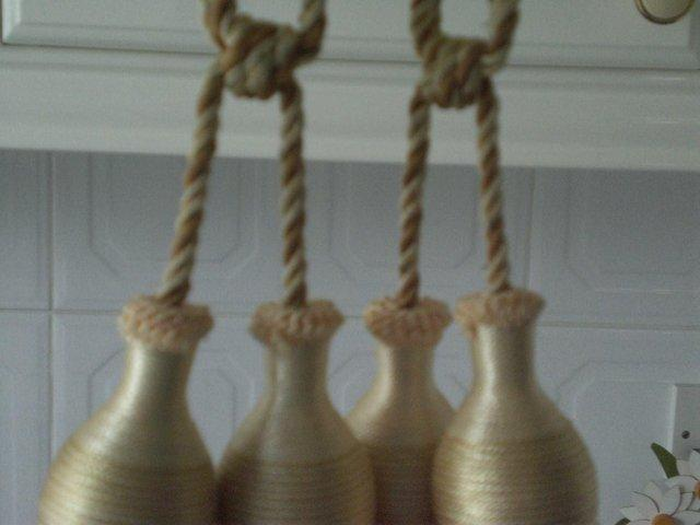 Image 2 of Curtain Tie Backs with tassels (New