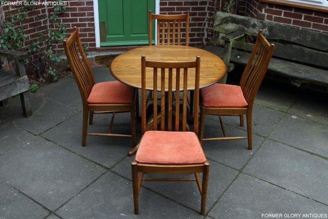 Outstanding Ercol Golden Dawn Chester Round Dining Table Four Chairs For Sale In Uttoxeter Staffs Preloved Download Free Architecture Designs Salvmadebymaigaardcom