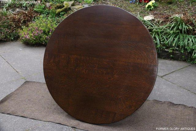 Image 11 of TITCHMARSH AND GOODWIN OAK COFFEE PHONE LAMP ARMCHAIR TABLE
