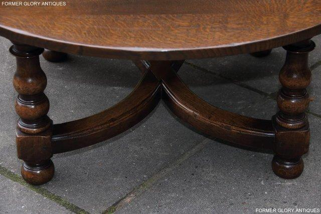 Image 40 of TITCHMARSH AND GOODWIN OAK COFFEE PHONE LAMP ARMCHAIR TABLE