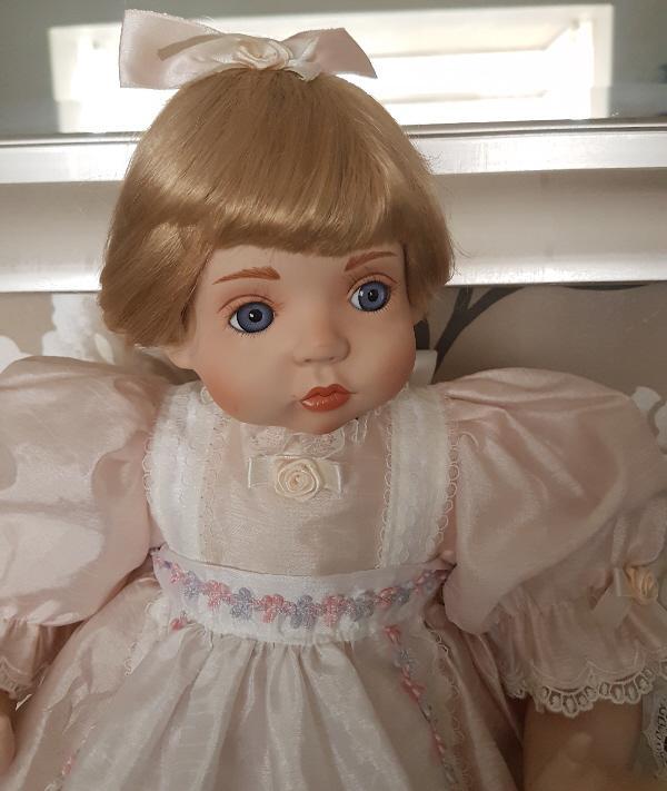 Image 2 of Bonny Baby Girl Porcelain Collectors Doll