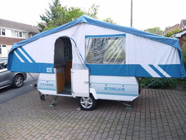 CONWAY AND PENNINE FOLDING CAMPER u0026 TRAILER TENTS WANTED b & Health and Leisure (Caravans and Camping - Trailer Tents ...