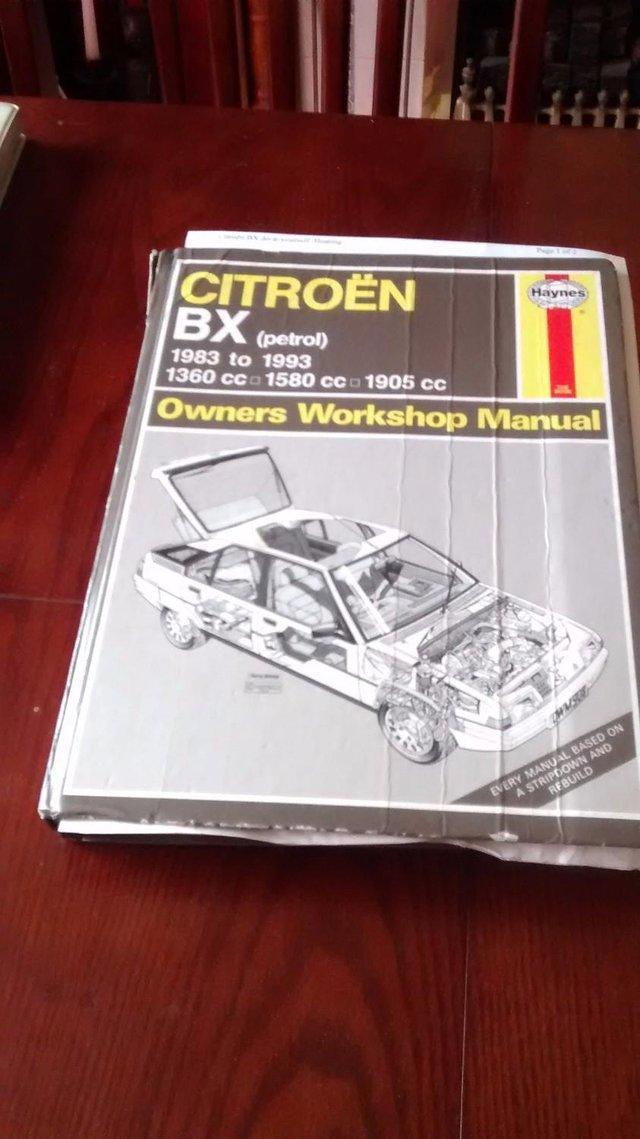 Image 2 of Citroen Diesel & Petrol 1.9cc = x 2 Haynes manuals