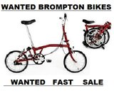 BromptonFolding Bikes WANTED -