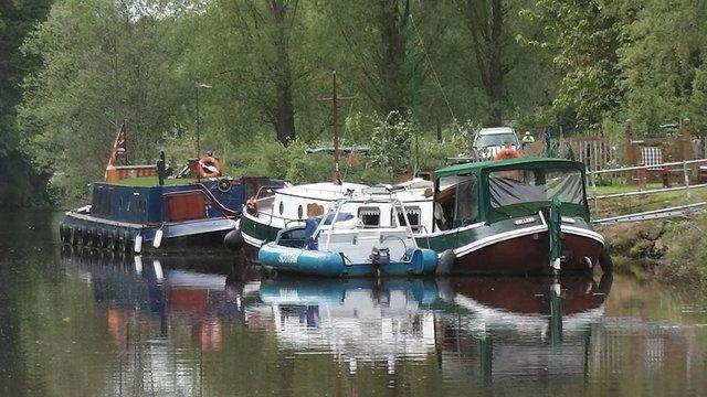Preview of the first image of MOORING FREEHOLD LAND, PLOT AND BERTHS AT MAIDSTONE, KENT..