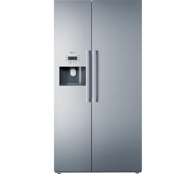 Preview of the first image of NEFF SERIES 5 ST/STEEL AMERICAN FRIDGE FREEZER! *RRP 1900+.