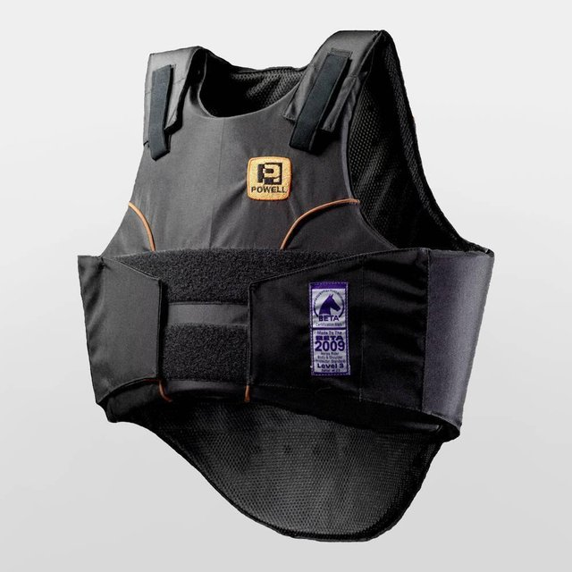 Preview of the first image of Rodney Powell Children Equestrian Body Protector Childs Medi.