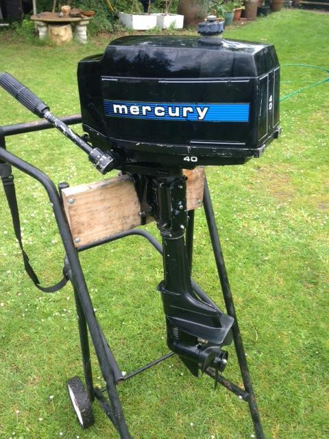 Preview of the first image of Mercury 4hp Gnat Outboard Parts.
