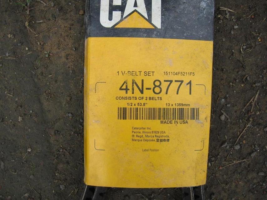 CAT 312 fan belt set, For Sale in Holmfirth, West Yorkshire | Preloved