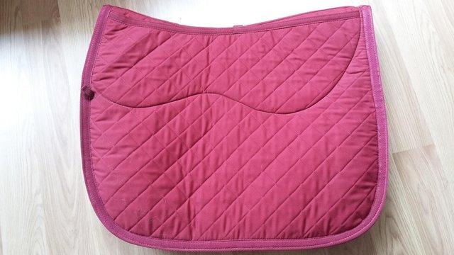 Image 3 of SADDLE CLOTH/PAD/NUMNAH, WOOL WITH INSERT POCKETS