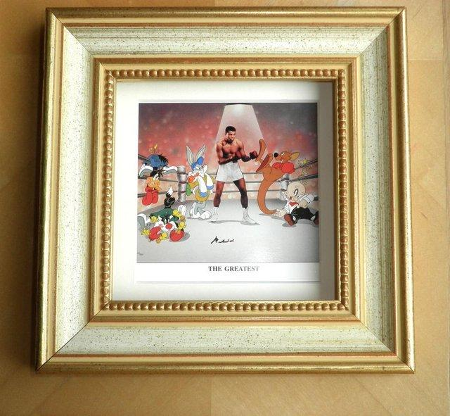 Preview of the first image of MUHAMMAD ALI PROMO.CARD.