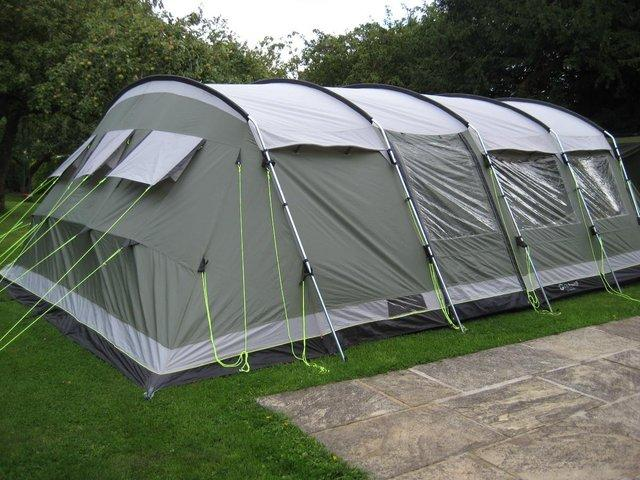 Outwell Vermont XL - 7 Berth Tent & Outwell Vermont XL - 7 Berth Tent For Sale in Bedford ...
