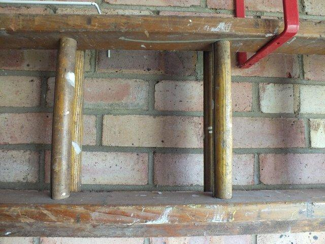 Image 2 of Wooden Extend Ladder