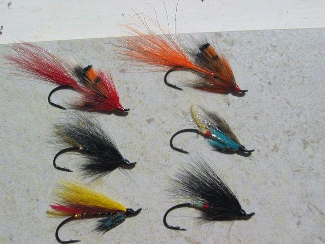 Image 2 of SALMON FLIES & TROUT FLIES HARDY BROS RODS REELS DAIWA RODS