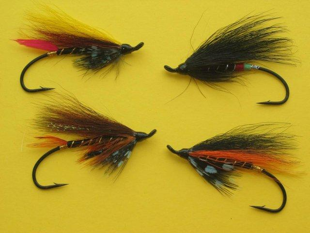 Preview of the first image of SALMON FLIES & TROUT FLIES HARDY BROS RODS REELS DAIWA RODS.
