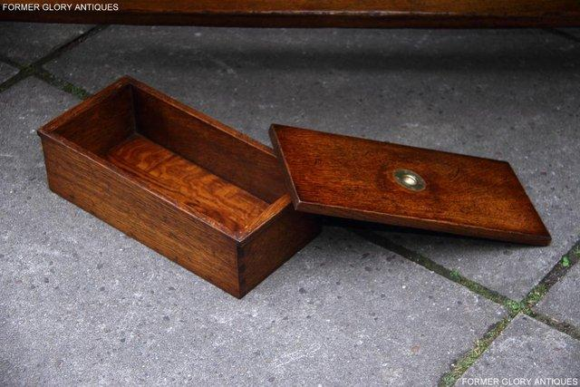 Image 5 of TITCHMARSH & GOODWIN STYLE OAK COFFEE TEA GAMES TABLE STAND