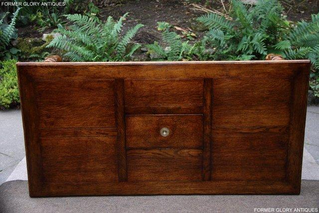 Image 8 of TITCHMARSH & GOODWIN STYLE OAK COFFEE TEA GAMES TABLE STAND