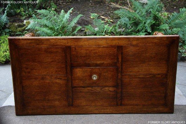 Image 9 of TITCHMARSH & GOODWIN STYLE OAK COFFEE TEA GAMES TABLE STAND