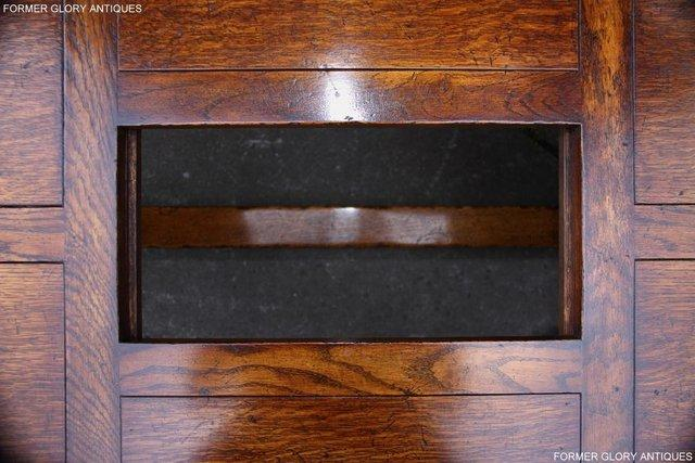 Image 10 of TITCHMARSH & GOODWIN STYLE OAK COFFEE TEA GAMES TABLE STAND