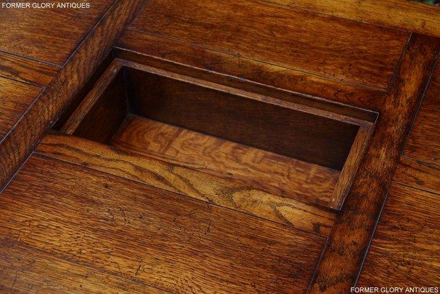 Image 17 of TITCHMARSH & GOODWIN STYLE OAK COFFEE TEA GAMES TABLE STAND