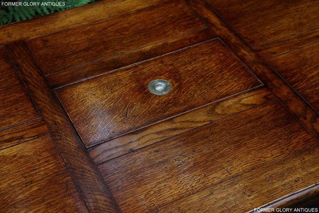 Image 27 of TITCHMARSH & GOODWIN STYLE OAK COFFEE TEA GAMES TABLE STAND