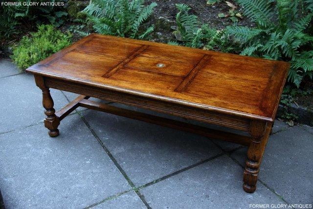 Image 32 of TITCHMARSH & GOODWIN STYLE OAK COFFEE TEA GAMES TABLE STAND