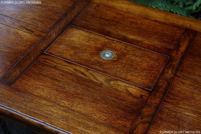 Image 34 of TITCHMARSH & GOODWIN STYLE OAK COFFEE TEA GAMES TABLE STAND
