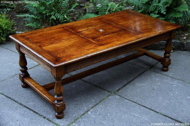 Image 38 of TITCHMARSH & GOODWIN STYLE OAK COFFEE TEA GAMES TABLE STAND