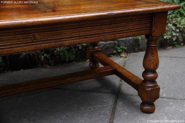 Image 39 of TITCHMARSH & GOODWIN STYLE OAK COFFEE TEA GAMES TABLE STAND