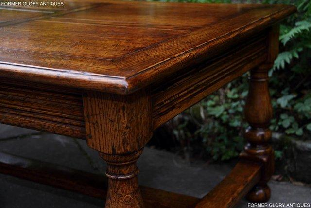 Image 45 of TITCHMARSH & GOODWIN STYLE OAK COFFEE TEA GAMES TABLE STAND