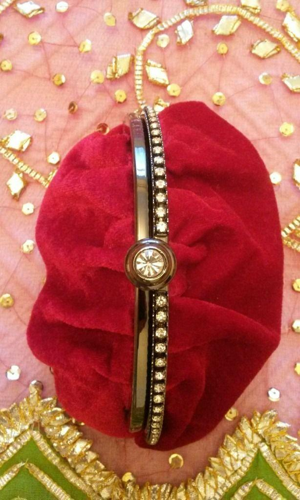 Preview of the first image of NEW BETH JORDAN BAG Clutch Purse Red Velvet Diamante.