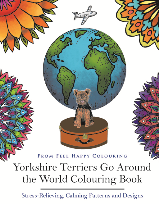 Yorkshire Terriers Colouring Book Bestseller