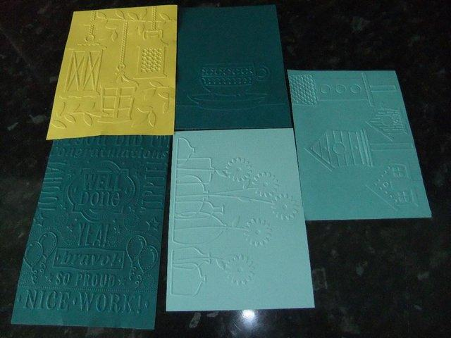 Preview of the first image of Embossing folders by Diesire.