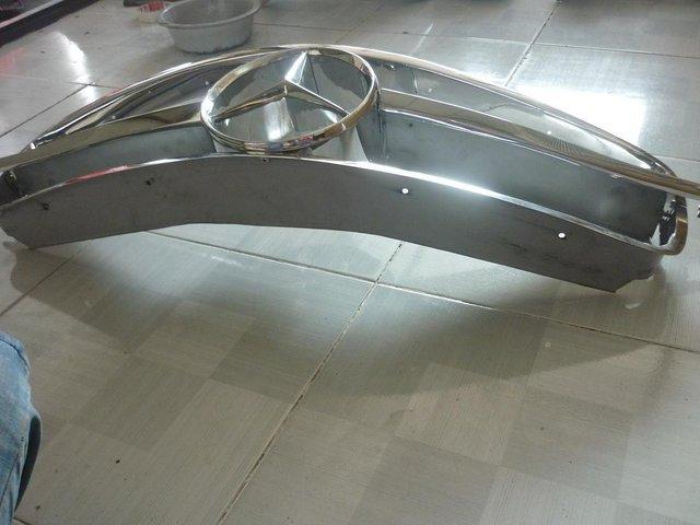 Preview of the first image of Mercedes Benz 190SL Stainless Steel Grill.