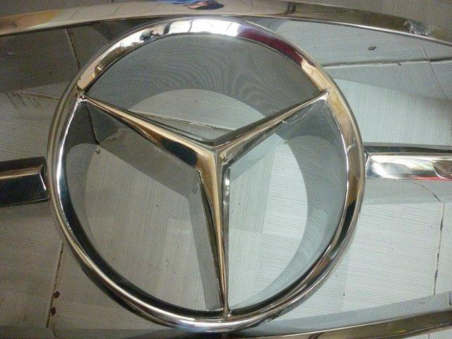 Image 2 of Mercedes Benz 190SL Stainless Steel Grill