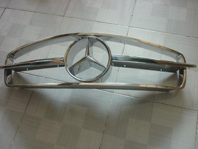 Image 3 of Mercedes Benz 190SL Stainless Steel Grill