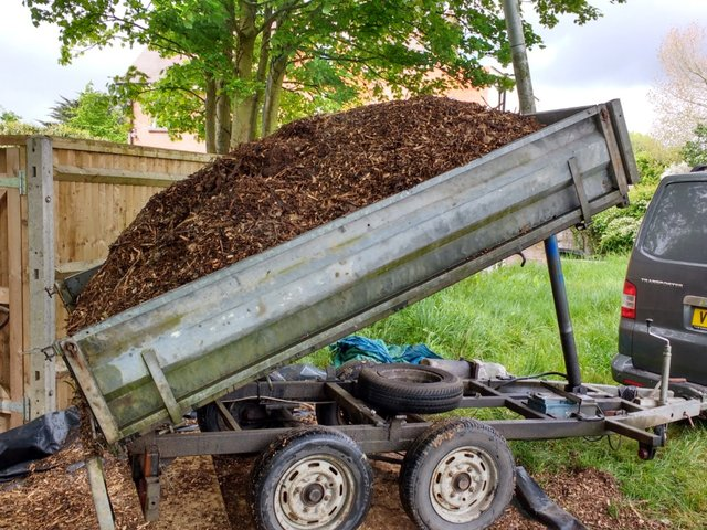 Image 3 of Wood chippings / Woodchip / mulch / bark / garden / chickens
